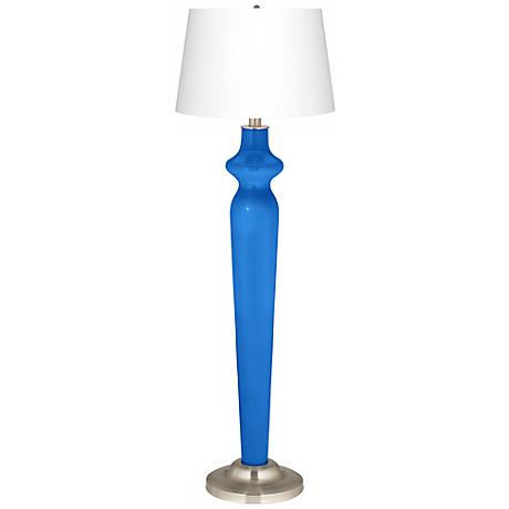 Royal Blue Lido Floor Lamp