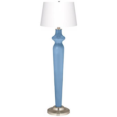 Dusk Blue Lido Floor Lamp