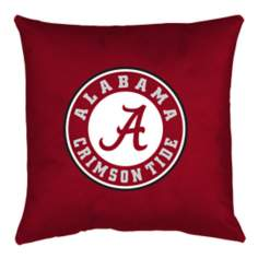 NCAA Alabama Crimson Tide Locker Room Throw Pillow