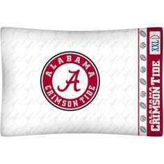 NCAA Alabama Crimson Tide Locker Room Pillow Case