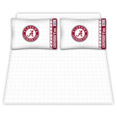 NCAA Alabama Crimson Tide Micro Fiber Sheet Set