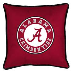 NCAA Alabama Crimson Tide Sidelines Throw Pillow