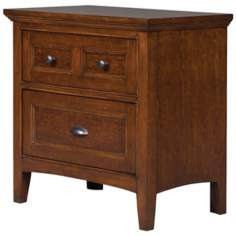 Riley 3-Drawer Cherry Nightstand