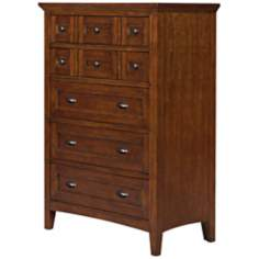 Riley 5-Drawer Cherry Chest
