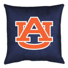 NCAA Auburn Tigers Locker Room Throw Pillow