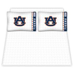 NCAA Auburn Tigers Micro Fiber Sheet Set