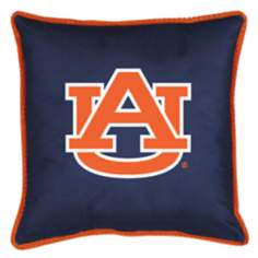 NCAA Auburn Tigers Sidelines Throw Pillow