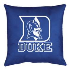 NCAA Duke Blue Devils Locker Room Throw Pillow