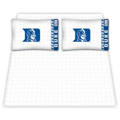 NCAA Duke Blue Devils Micro Fiber Sheet Set