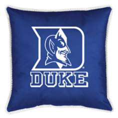 NCAA Duke Blue Devils Sidelines Throw Pillow