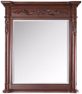 "Avanity Provence 33"" High Antique Cherry Wall Mirror (Y8634)"
