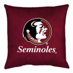 NCAA Florida State Seminoles Locker Room Throw Pillow