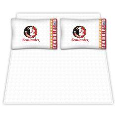 NCAA Florida State Seminoles Micro Fiber Sheet Set
