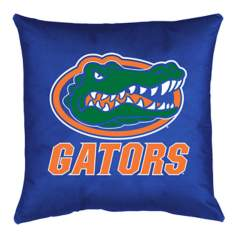 NCAA Florida Gators Locker Room Throw Pillow