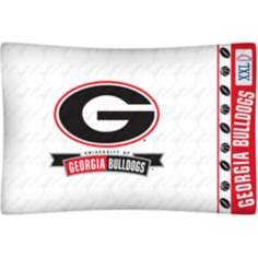 NCAA Georgia Bulldogs Micro Fiber Pillow Case