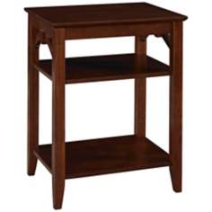 Knox Antique Walnut Side Table