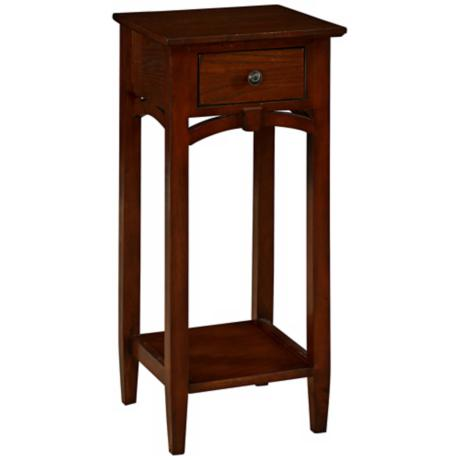 Knox Antique Walnut Accent Table