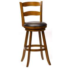 "Hillsdale Eastpointe 24 1/2"" High Cherry Wood Counter Stool"