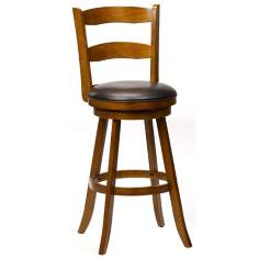"Hillsdale Eastpointe 30 1/2"" High Cherry Wood Bar Stool"