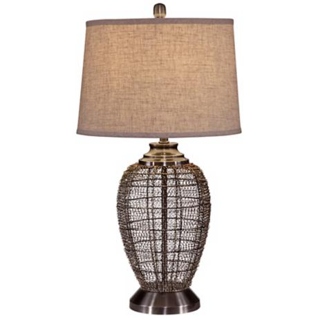 Glitteratti Metal Table Lamp