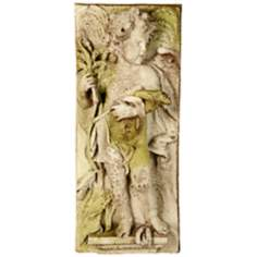 "Little Boy Autumn 30"" High Outdoor Wall Sculpture"