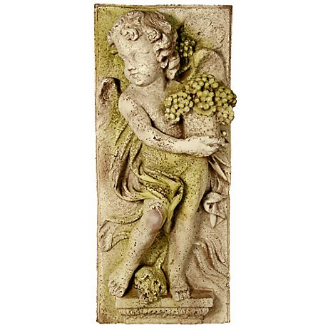 "Little Boy Summer 30"" High Outdoor Wall Sculpture"