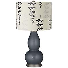 Gray Contemporary Table Lamps By Lampsplus Com