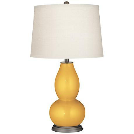 Sunshine Metallic Double Gourd Table Lamp