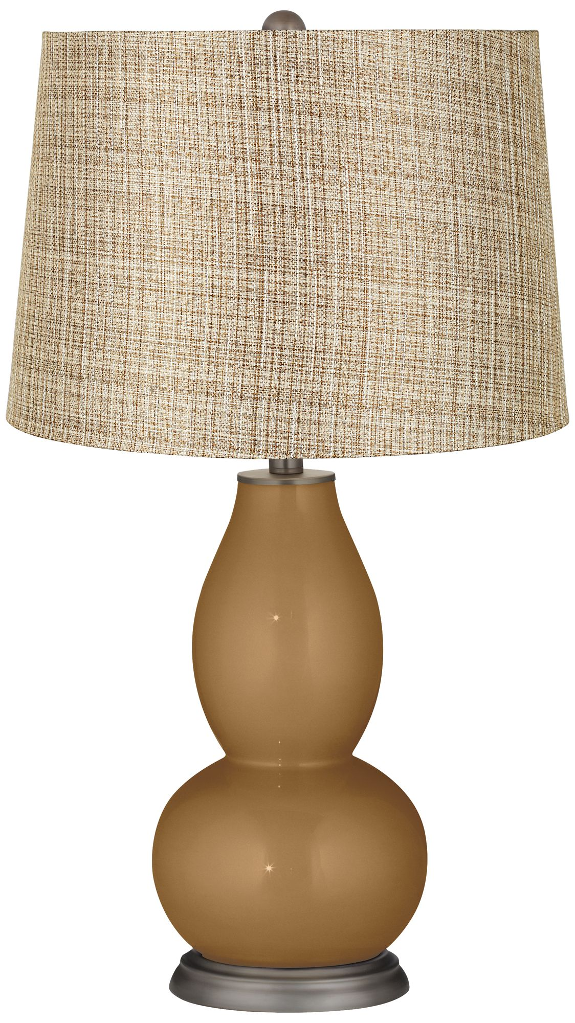 Replica Can Can Pendant Lamp by Flos Cheap Light Bronze Metallic Textured Linen Gold Double Gourd Lamp