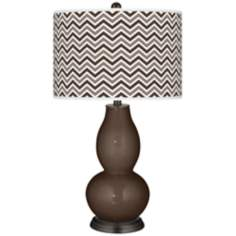 Carafe Narrow Zig Zag Double Gourd Table Lamp