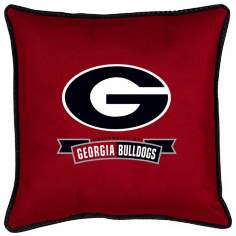 NCAA Georgia Bulldogs Sidelines Pillow