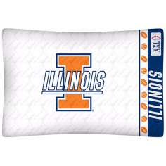 NCAA Illinois Fighting Illini Micro Fiber Pillow Case