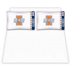 NCAA Illinois Fighting Illini Micro Fiber Sheet Set