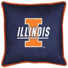 NCAA Illinois Fighting Illini Sidelines Pillow