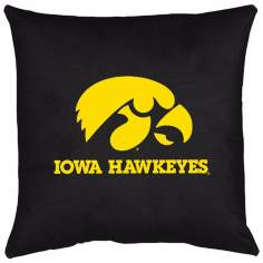 NCAA University of Iowa Hawkeyes Locker Room Pillow