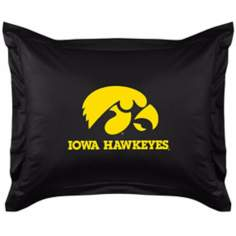 NCAA University of Iowa Hawkeyes Locker Room Pillow Sham