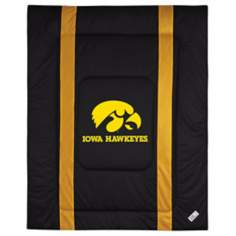 NCAA University of Iowa Hawkeyes Sidelines Comforter