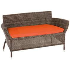 Osiris Collection Outdoor Loveseat