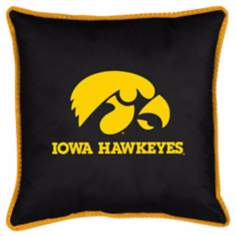 NCAA University of Iowa Hawkeyes Sidelines Pillow