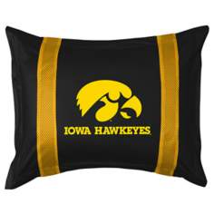 NCAA University of Iowa Hawkeyes Sidelines Pillow Sham
