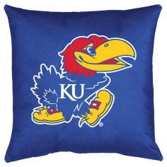 NCAA University of Kansas Jayhawks Locker Room Pillow