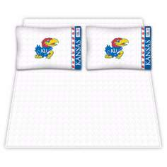 NCAA University of Kansas Jayhawks Micro Fiber Sheet Set