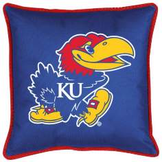 NCAA University of Kansas Jayhawks Sidelines Pillow