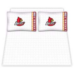 NCAA Louisville Cardinals Micro Fiber Sheet Set