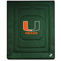 NCAA University of Miami Hurricanes Locker Room Comforter