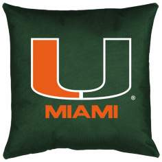 NCAA University of Miami Hurricanes Locker Room Pillow