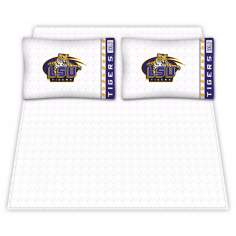 NCAA Louisiana State Tigers Micro Fiber Sheet Set