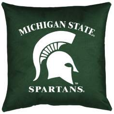 NCAA Michigan State Spartans Locker Room Pillow
