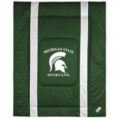 NCAA Michigan State Spartans Sidelines Comforter