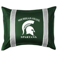 NCAA Michigan State Spartans Sidelines Pillow Sham
